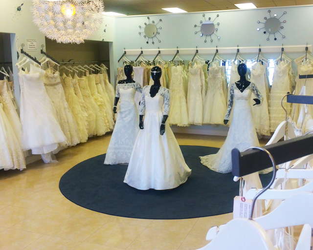 Find your dream wedding dress at new york bride of raleigh for Cheap wedding dresses raleigh nc
