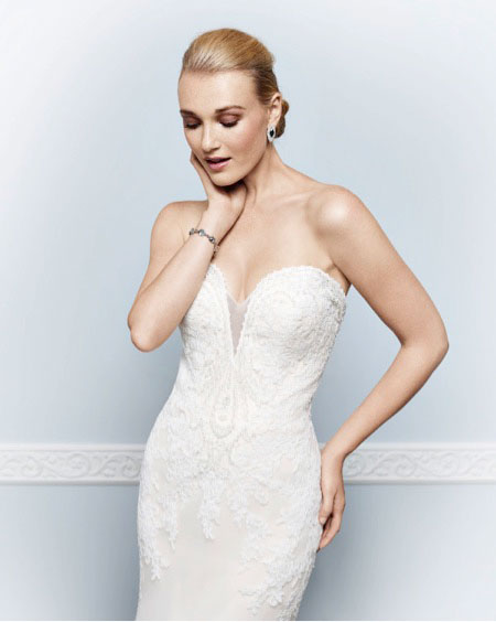 juston aleaxander wedding dresses