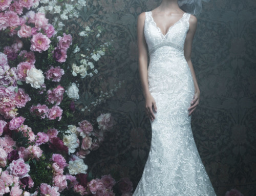 Deciphering Wedding Gown Necklines at NYB&G Raleigh