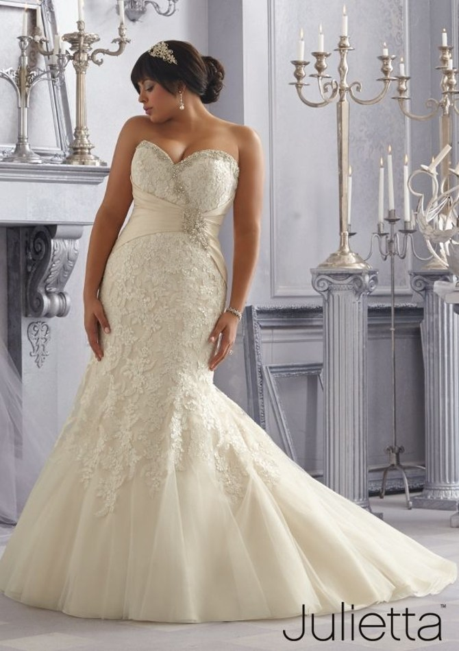 989741b70dad Magical Moments: The Julietta Plus-Size Collection from Morilee