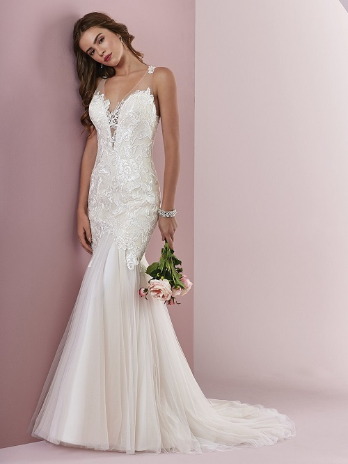 Mermaid Style Wedding Dress.Mermaid Wedding Dresses Capture The Imagination
