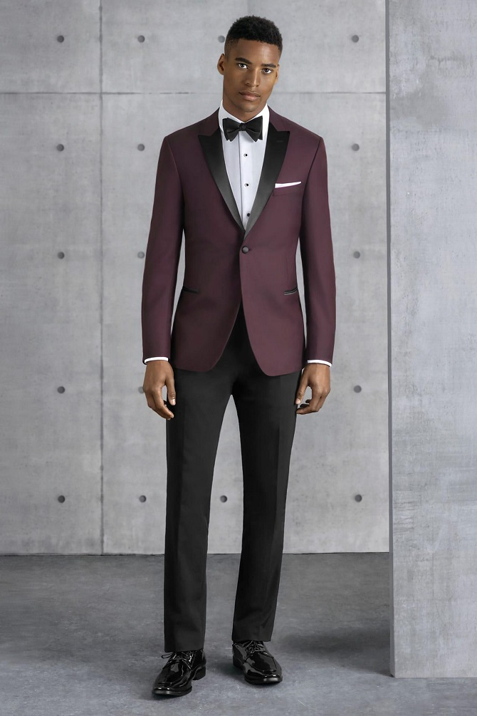 New-York-Bride-Groom-Raleigh-wedding-tuxedo-burgundy-kenneth-cole-empire-201