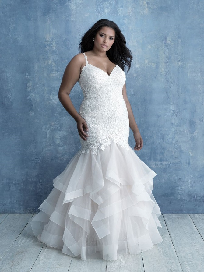 We Love Allure Women Plus Size Wedding Gowns